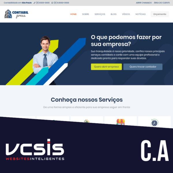 Site ContabilPress - Mod. A 1