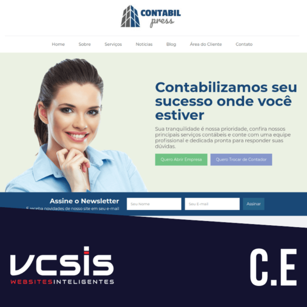 Site ContabilPress - Mod. E 1